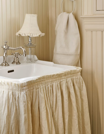 Slipcover sink