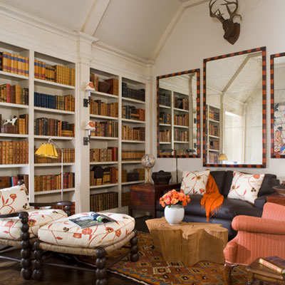 Children's library southern accents showhouse
